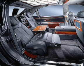 Maybach on Mercedes Benz S New Maybach Backseat Complete With Reclining Function