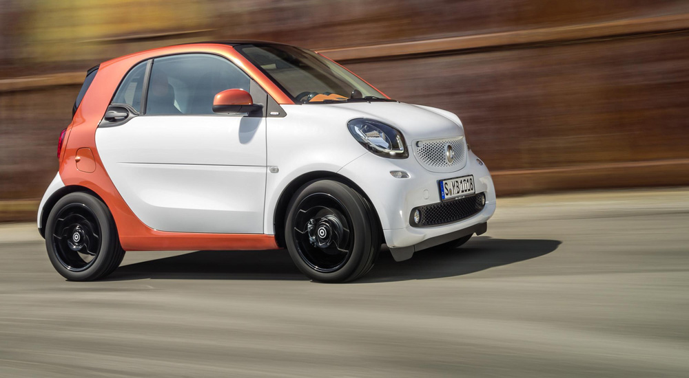 2016 smart fortwo forfour review for Smart car mercedes benz
