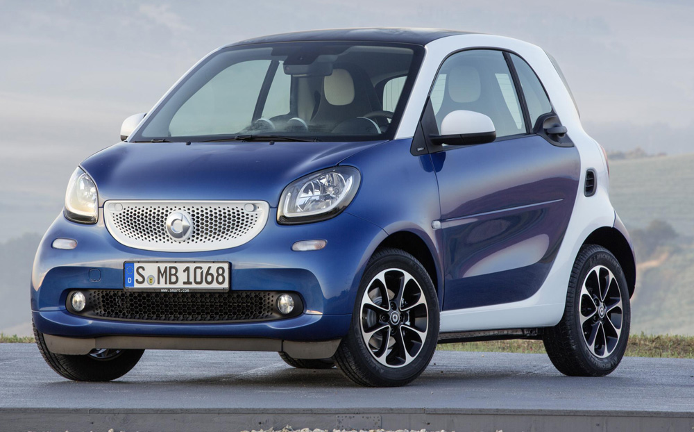 2016 smart fortwo forfour review for Mercedes benz smart fortwo