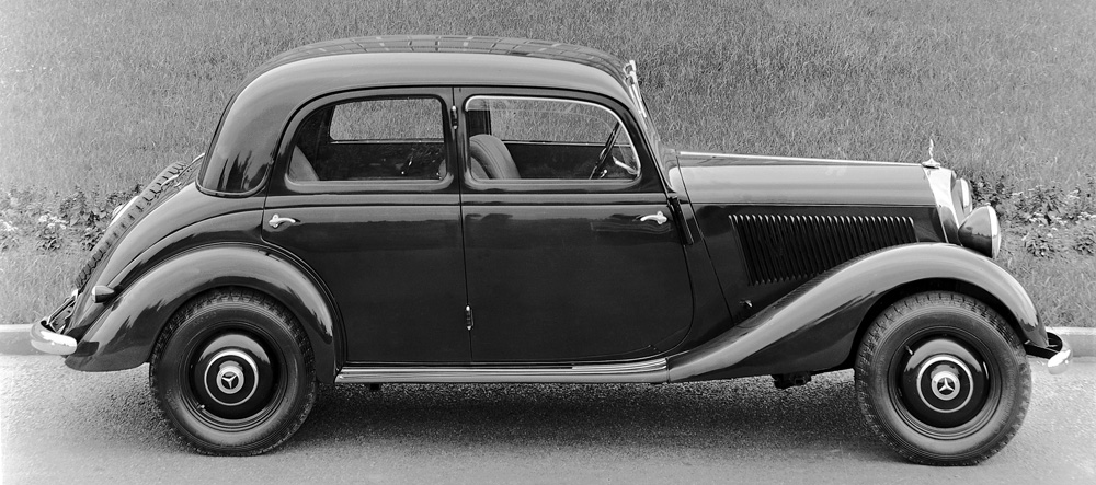 1945 to 1955 mercedes benz 136 and 191 series for Mercedes benz 170 ds for sale