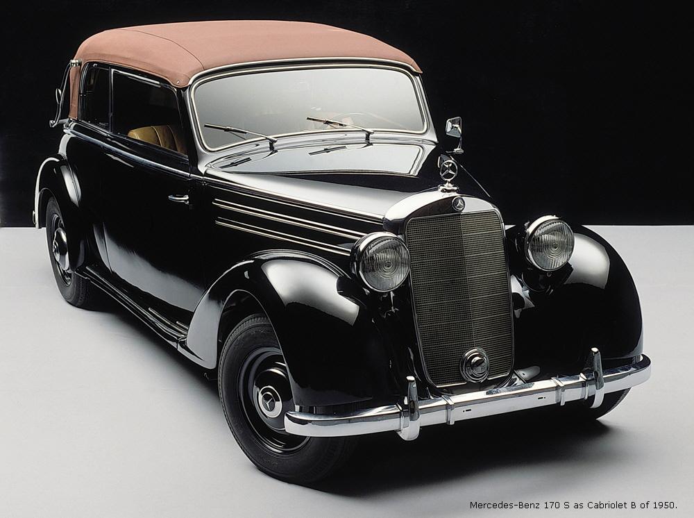 1946 Mercedes-Benz 170 - Information and photos - MOMENTcar
