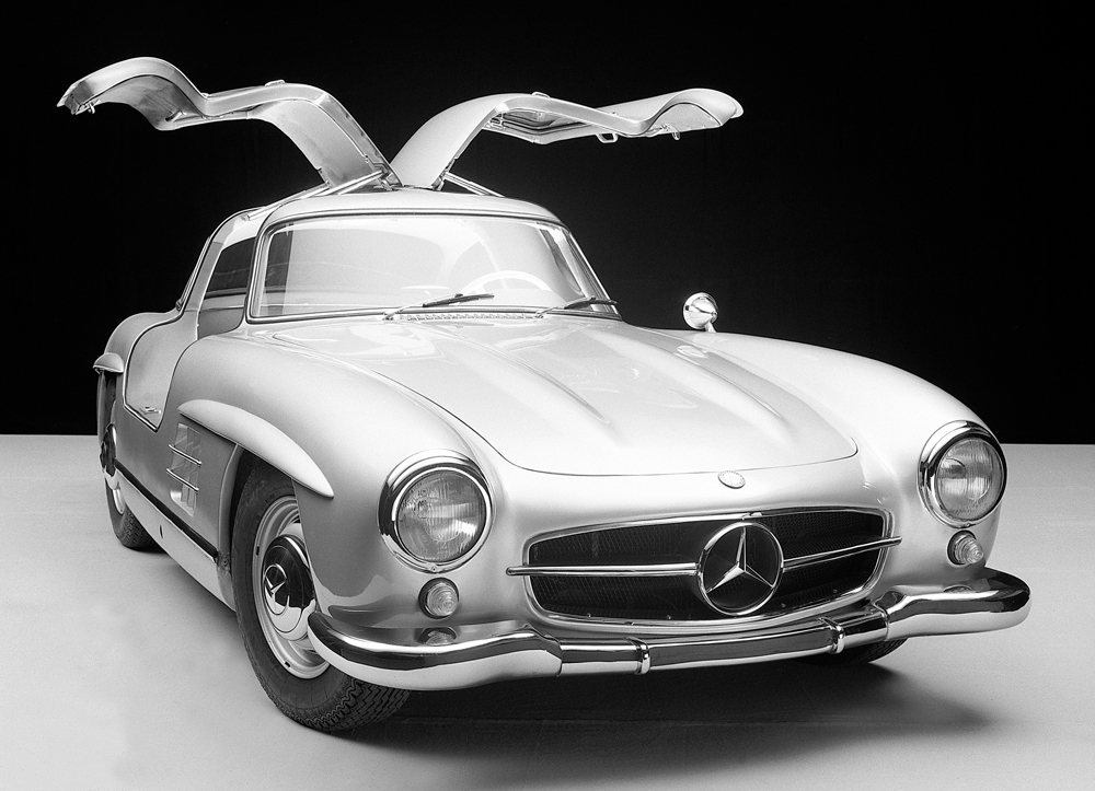 1954 1957 mercedes benz 300 sl coup gullwing for Mercedes benz sports cars