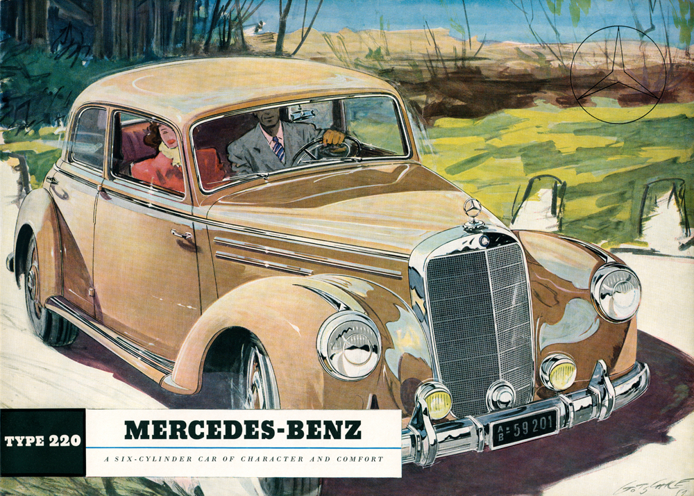 1951 to 1962 mercedes benz 300 and 220 s class w186 w189 for Mercedes benz walters