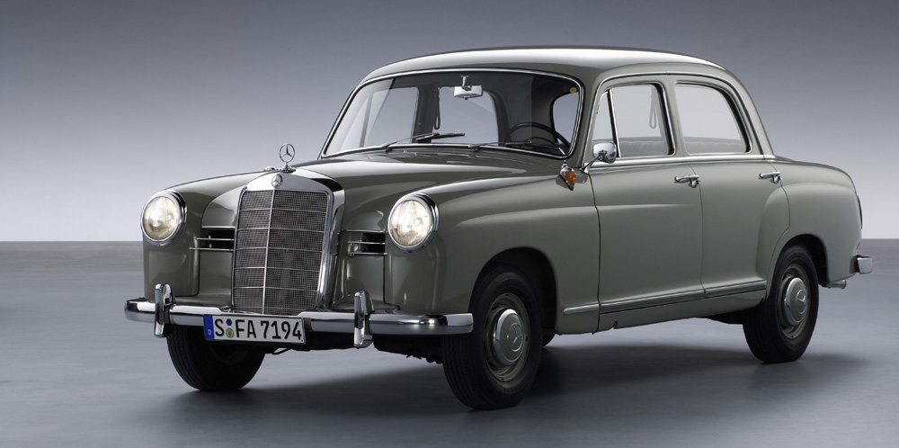 Mercedes Benz Historical Models >> 1953 To 1962 Mercedes Benz 120 And 121 Series