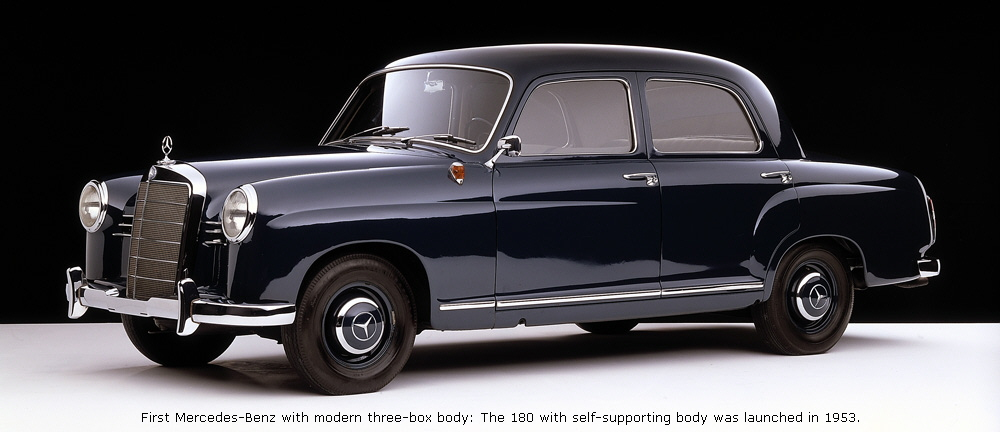 Mercedes Benz History >> 1953 To 1962 Mercedes Benz 120 And 121 Series
