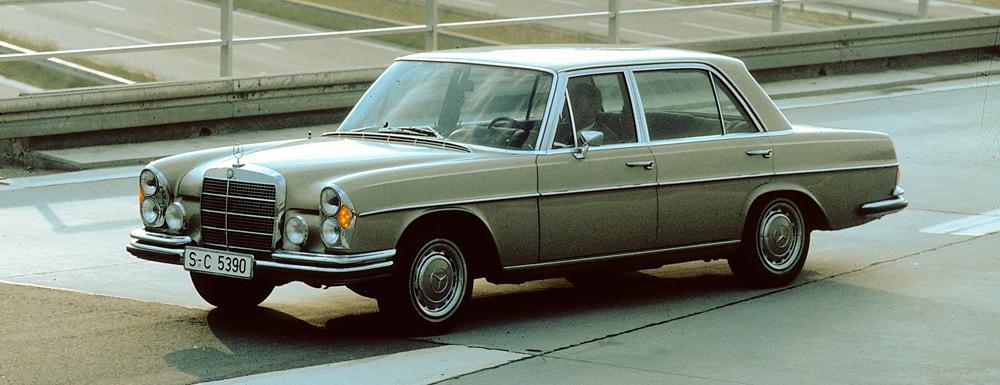 Mercedesbena Sclass 1959 To 1979