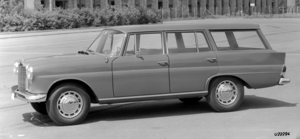 1961 to 1968 mercedes benz 110 series for Mercedes benz history name