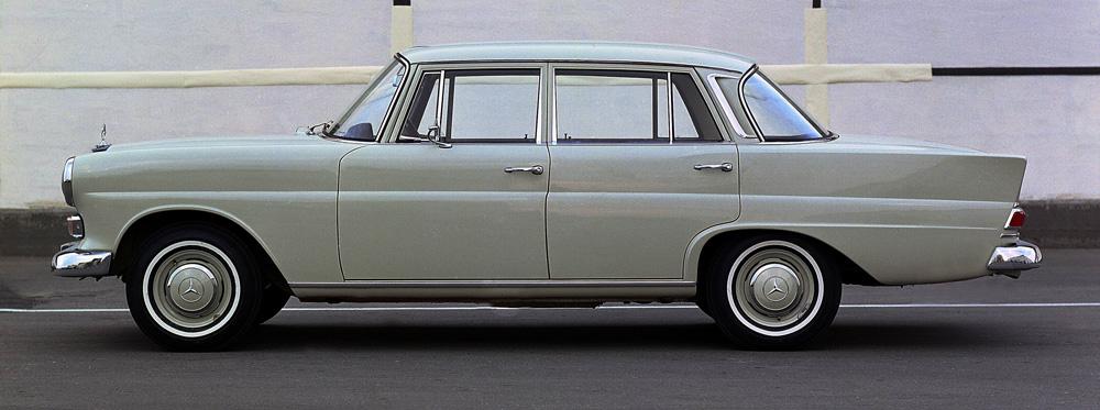 модели мерседесов 1960 годов