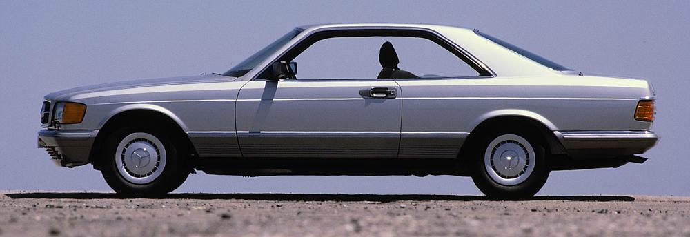 1991 to 1981 mercedes benz cl class c 126 series for Mercedes benz 1980 models