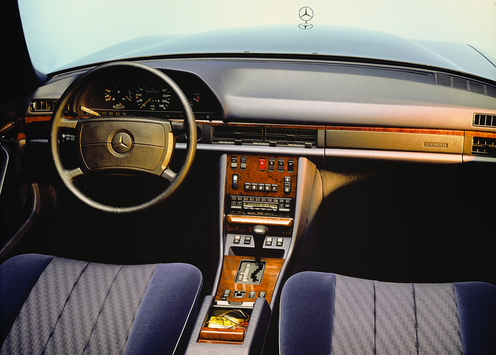 1979 to 1991 mercedes benz 126 s class for Mercedes benz model history