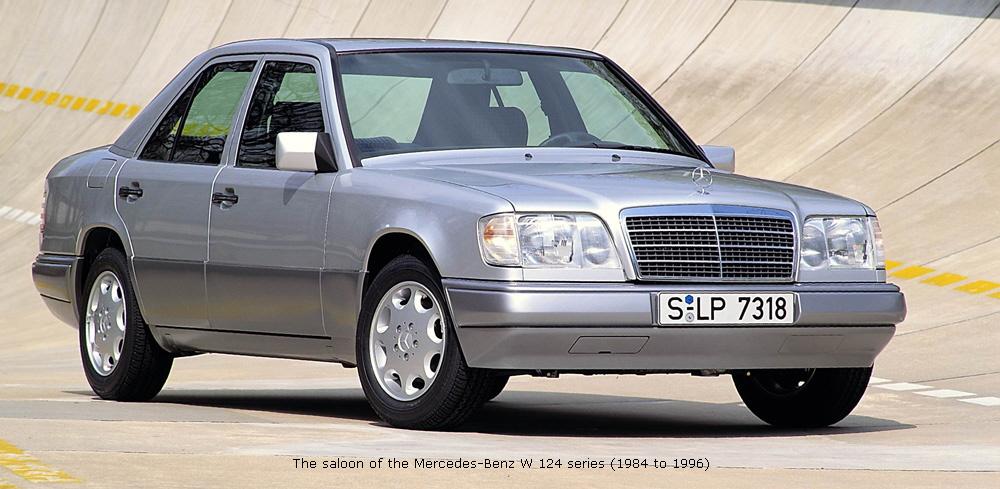 1984 to 1996 mercedes benz e class for Mercedes benz 1980 models