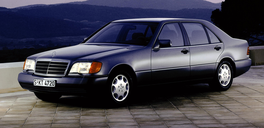 1998 To 1991 Mercedes Benz 140 S Class