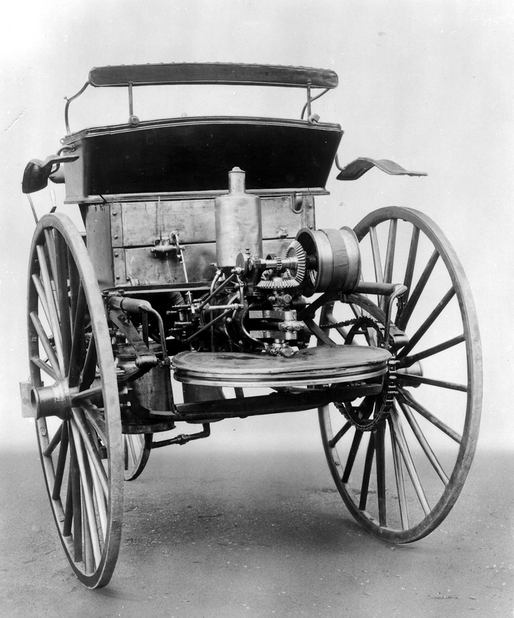 The World S First Automobile The Benz Patent Motorwagen: 1888 Benz Patent Motor Car