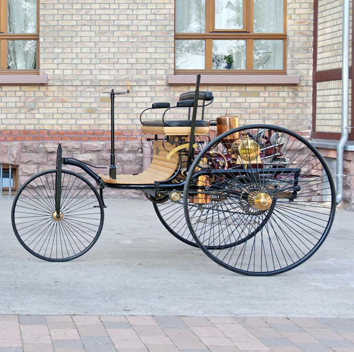 1888 Benz patent motor car