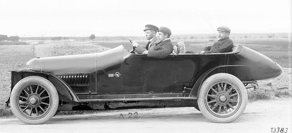 Benz Grand Prix Racing Car