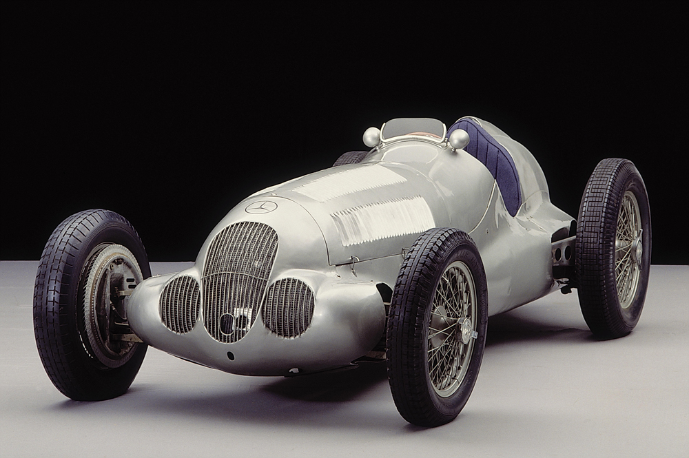 Mercedes Benz Silver Arrows From To