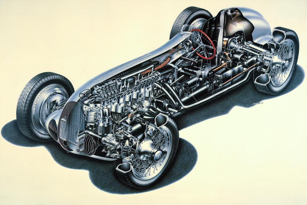 R on Carburetor Illustration