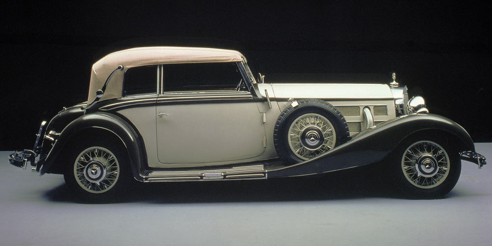 1934 to1938 mercedes benz 500 k w 29 for Types of mercedes benz cars