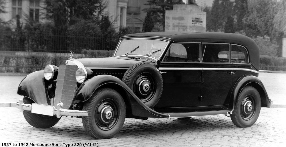 to 1942 Mercedes-Benz Type 320 (W142)