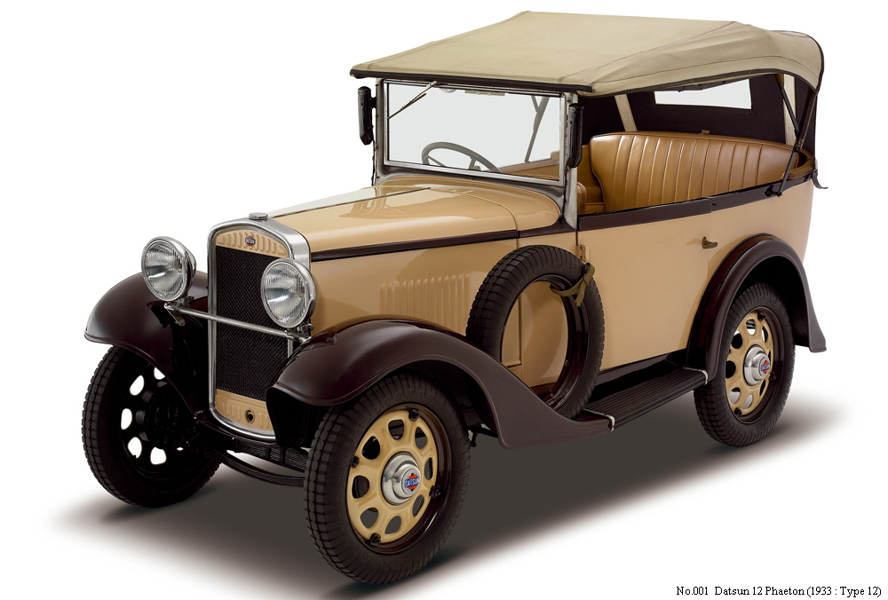 Datsun And Nissan Automobiles From 1933 To 1938