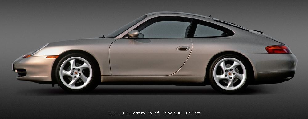 Porsche 911 Type 996 1998 2005