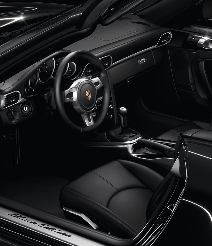2012 Porsche 911 Black Edition Cabriolet And Coupe