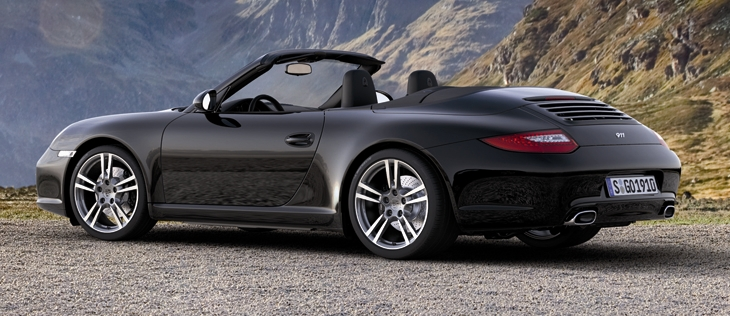 2012 porsche 911 black edition cabriolet and coupe. Black Bedroom Furniture Sets. Home Design Ideas