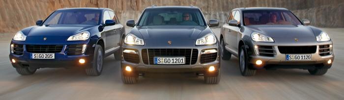 2008 Porsche Cayenne Family