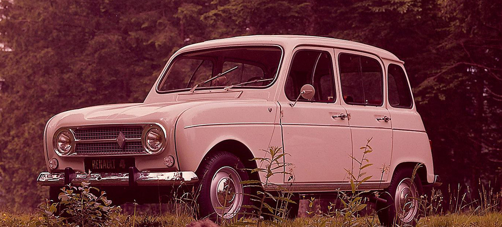 Renault 4 History