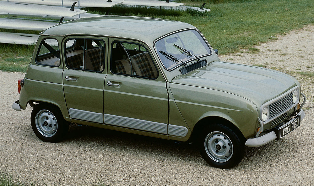 Renault 4 history sciox Image collections