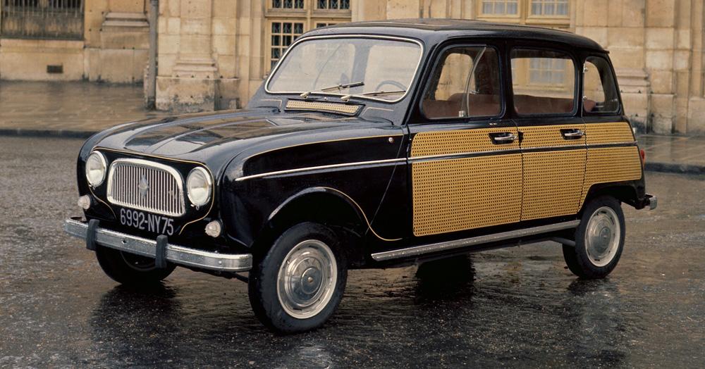Renault 4 History