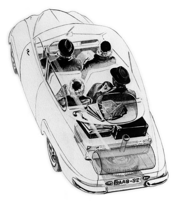 Saab 92: One Rare Swede: 1955 Saab 92B