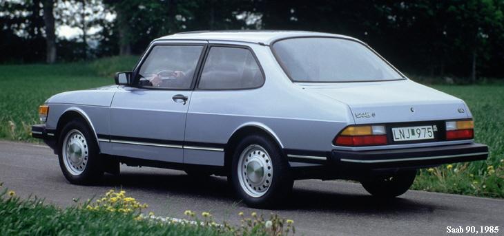 saab 90, 1985