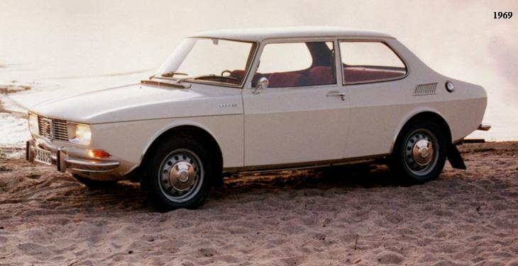 1968 1987 Saab 99 90