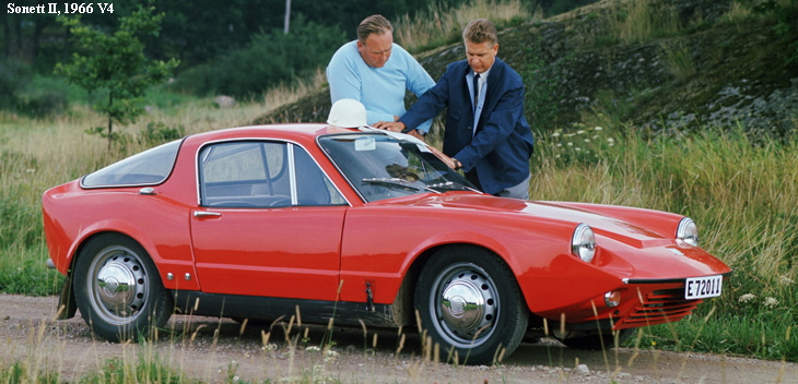 1956 Saab Sonett