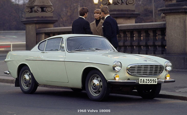 1961-1972 Volvo P1800 ~ Sports Car