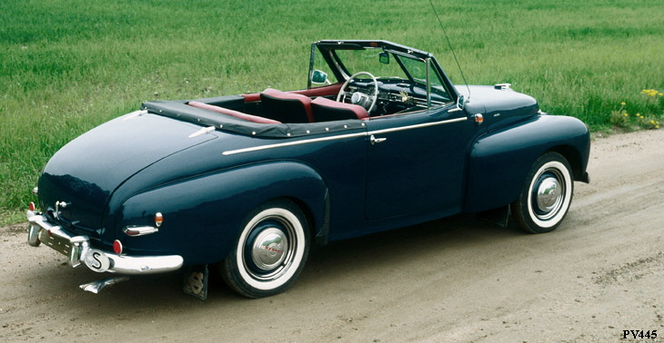 VOLVO PV445/PV445 DUETT IN PRODUCTION 1949-1960