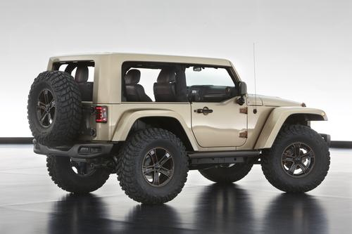 Jeep Reveal Six New Concept Vehicles