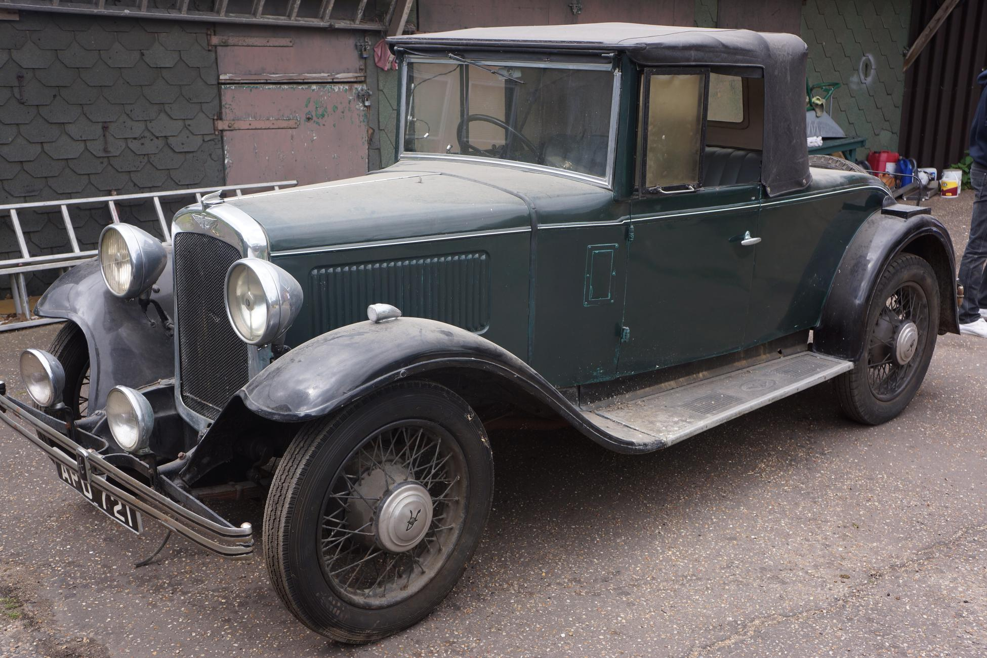 UK; EARLY AUSTIN 16/6 HARROW JUST ONE OF THE RARITIES IN ANGLIA ...