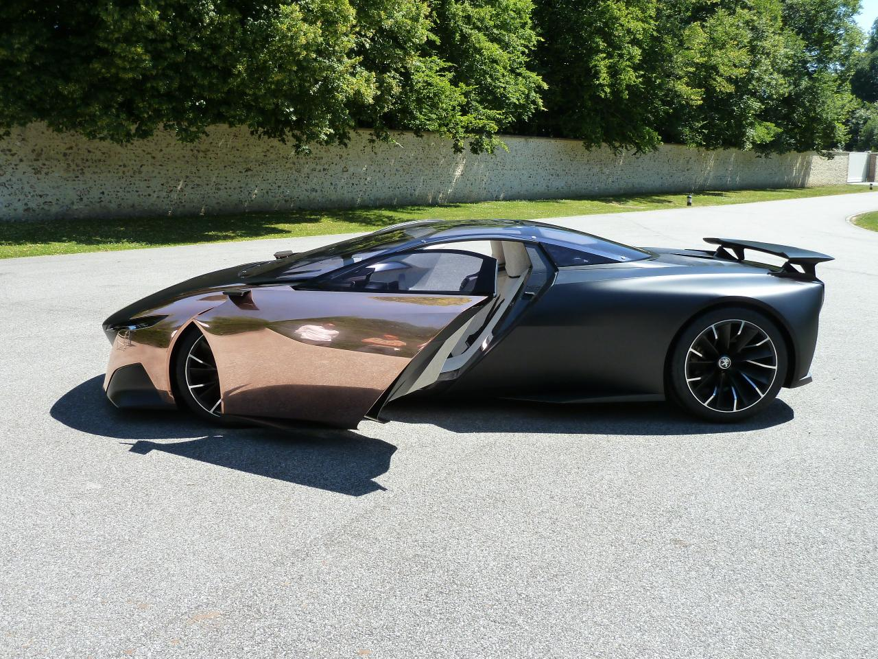 Onyx Car Parts : Peugeot onyx concept car at goodwood festival of speed