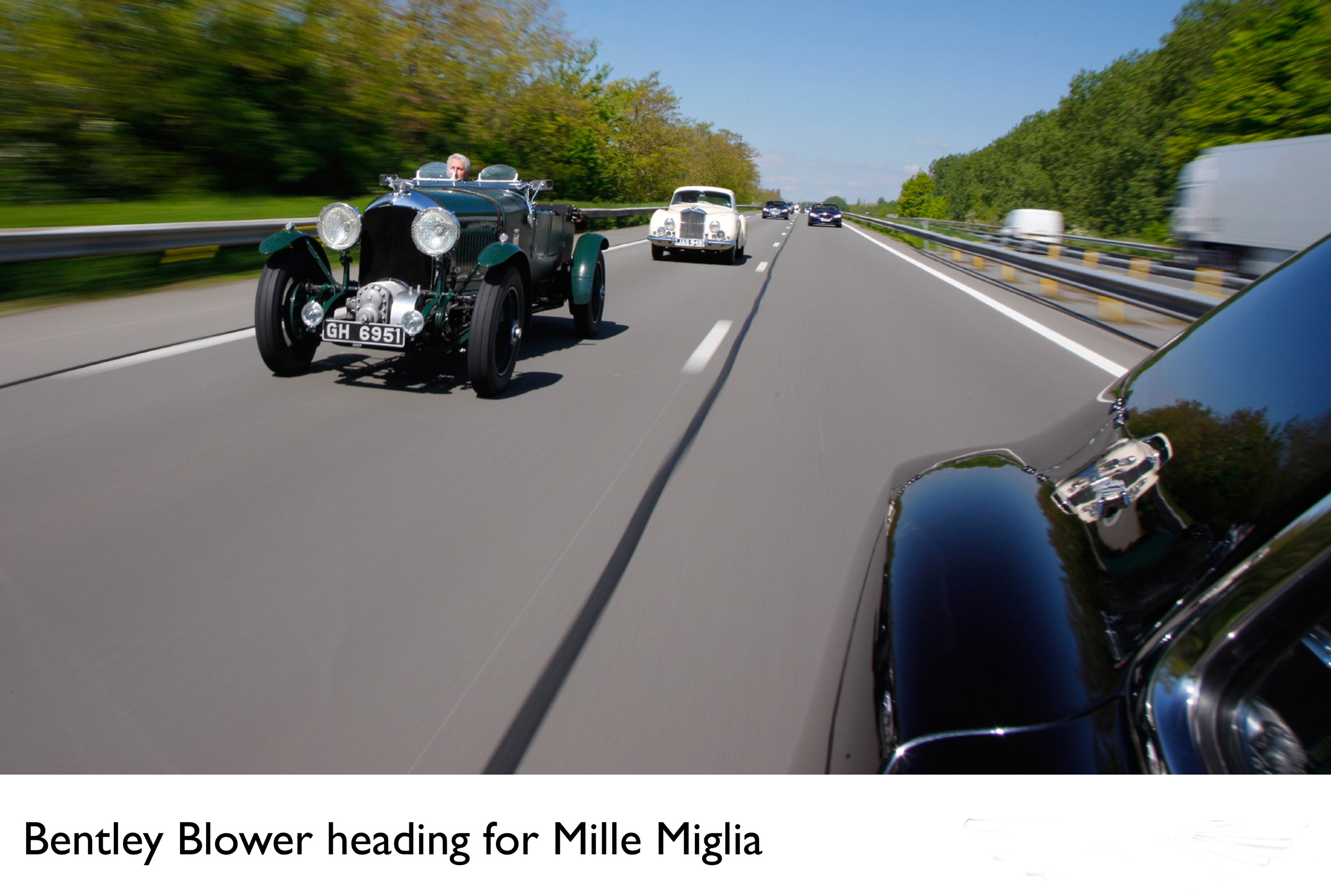 Fantastic Mini Miglia Challenge Car 2005: BENTLEY READY FOR CLASSIC THOUSAND MILE CHALLENGE