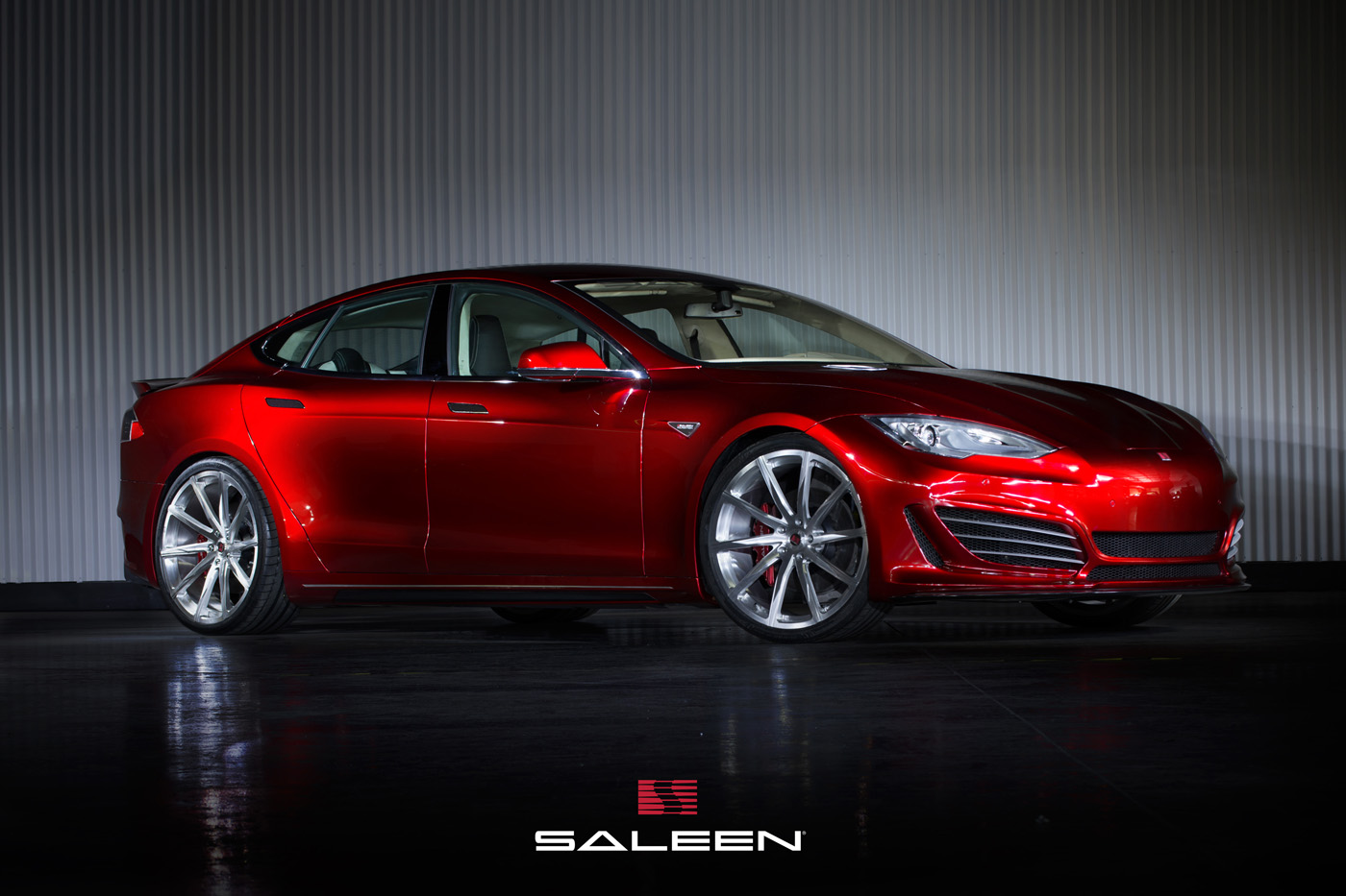 THE ALL-ELECTRIC ALL-PERFORMANCE SALEEN FOURSIXTEEN