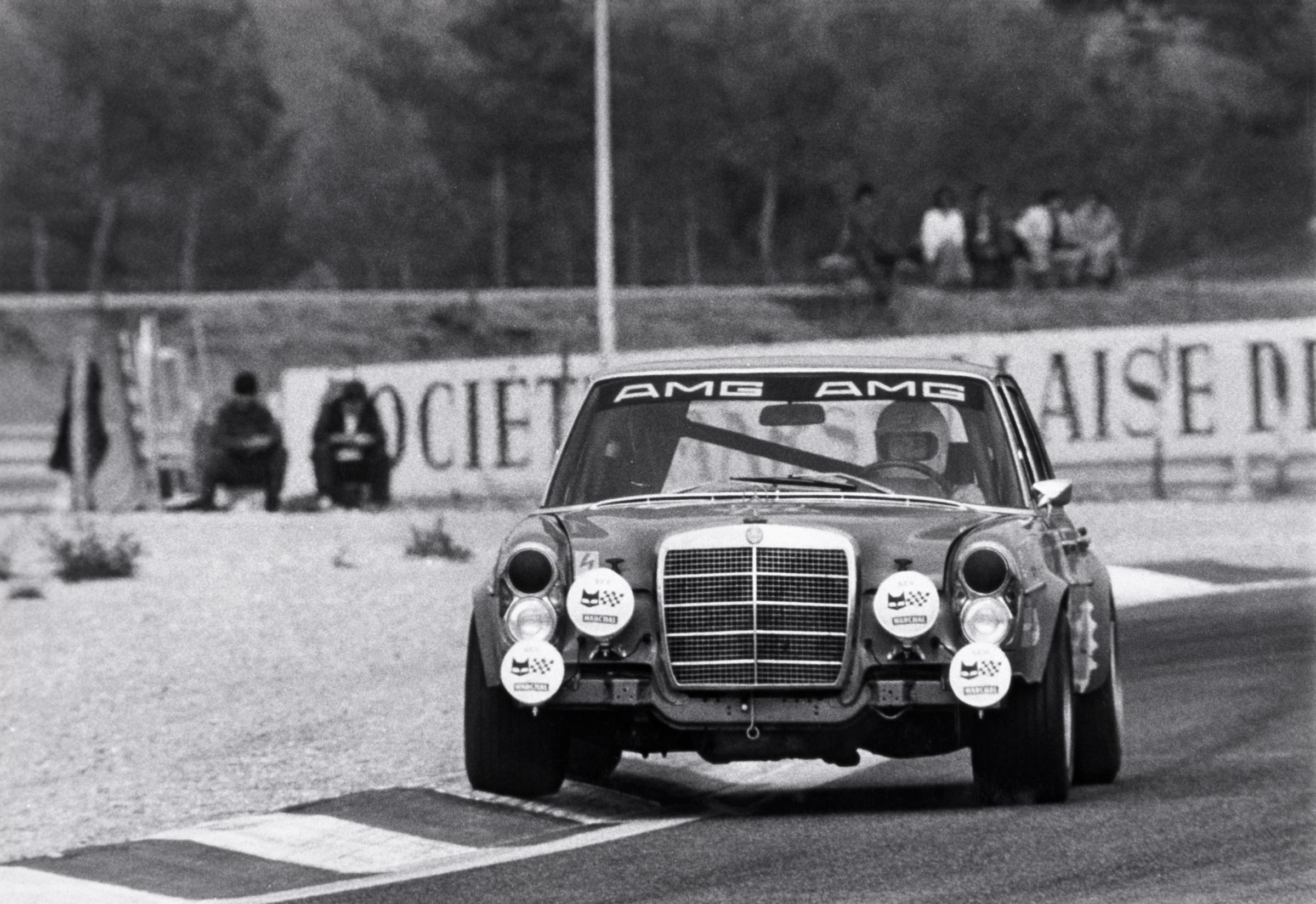 300 SEL 6.8 AMG at Spa 1971