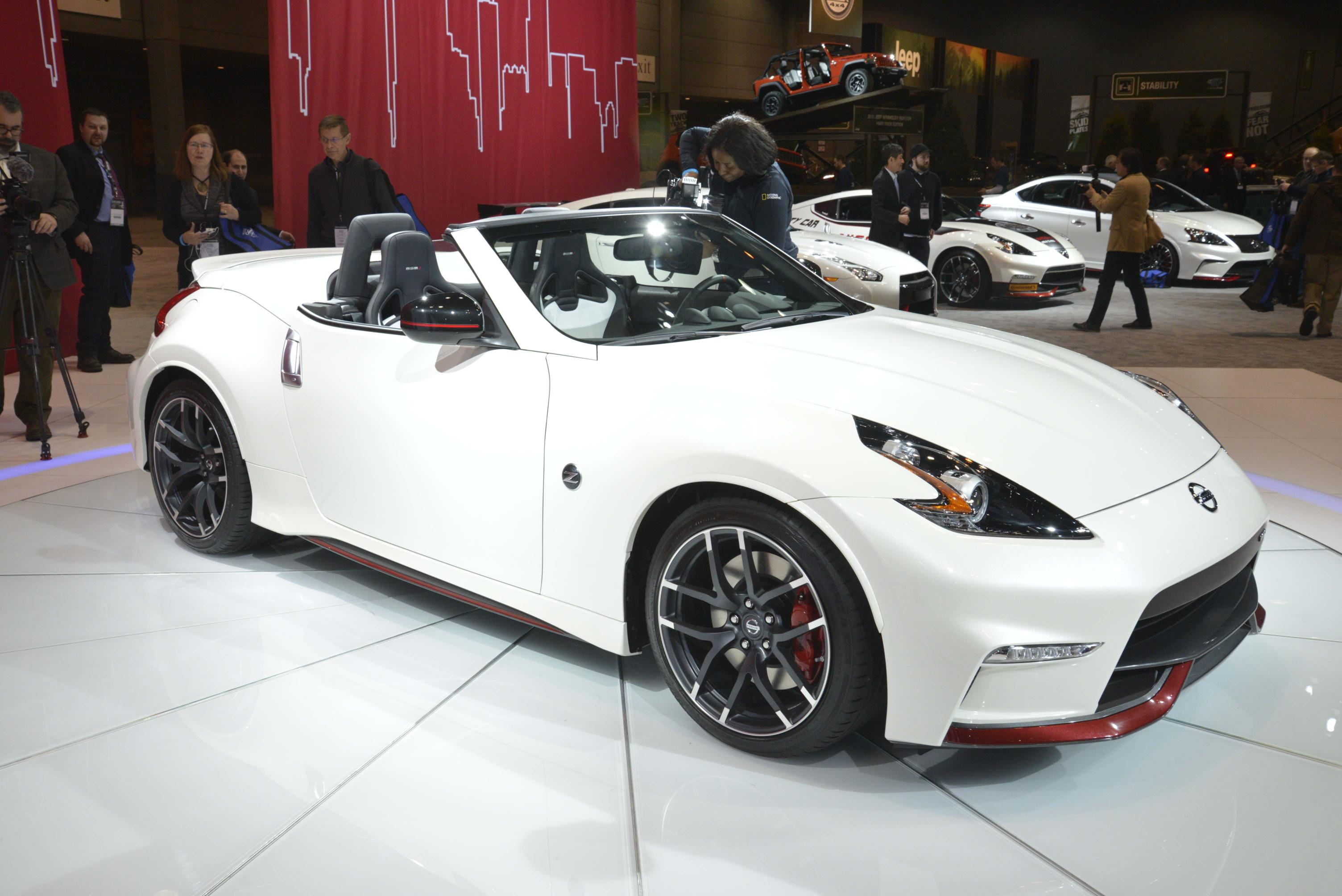 NISSAN 370Z NISMO ROADSTER CONCEPT MAKES WORLD DEBUT AT 2015 CHICAGO AUTO SHOW