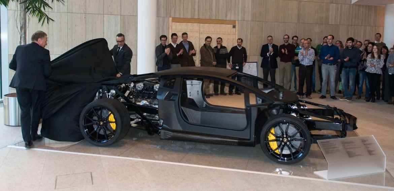 Lamborghini Aventador Lp 700 4 Carbon Fiber Monocoque On