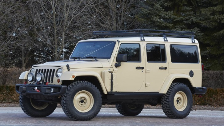 SEVEN NEW JEEP CONCEPT VEHICLES UNLEASHED FOR ANNUAL EASTER JEEP SAFARI
