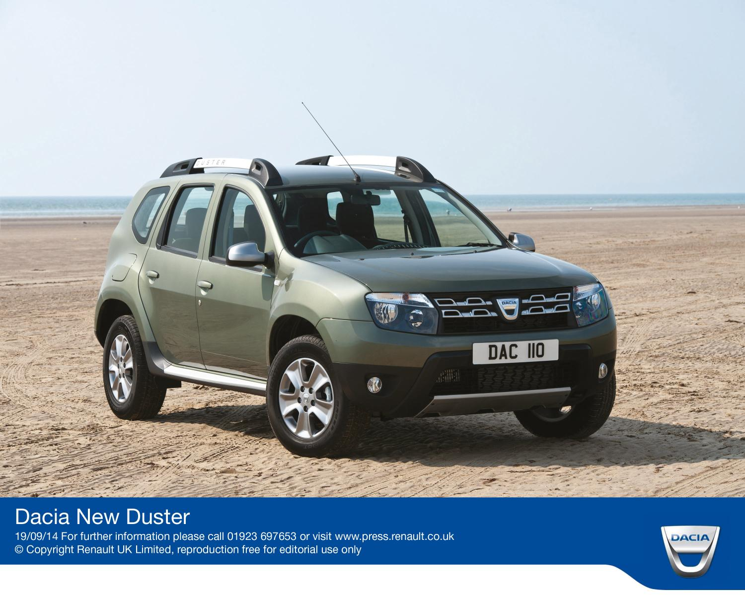 dacia adds new tce 125 engine to 4wd duster. Black Bedroom Furniture Sets. Home Design Ideas