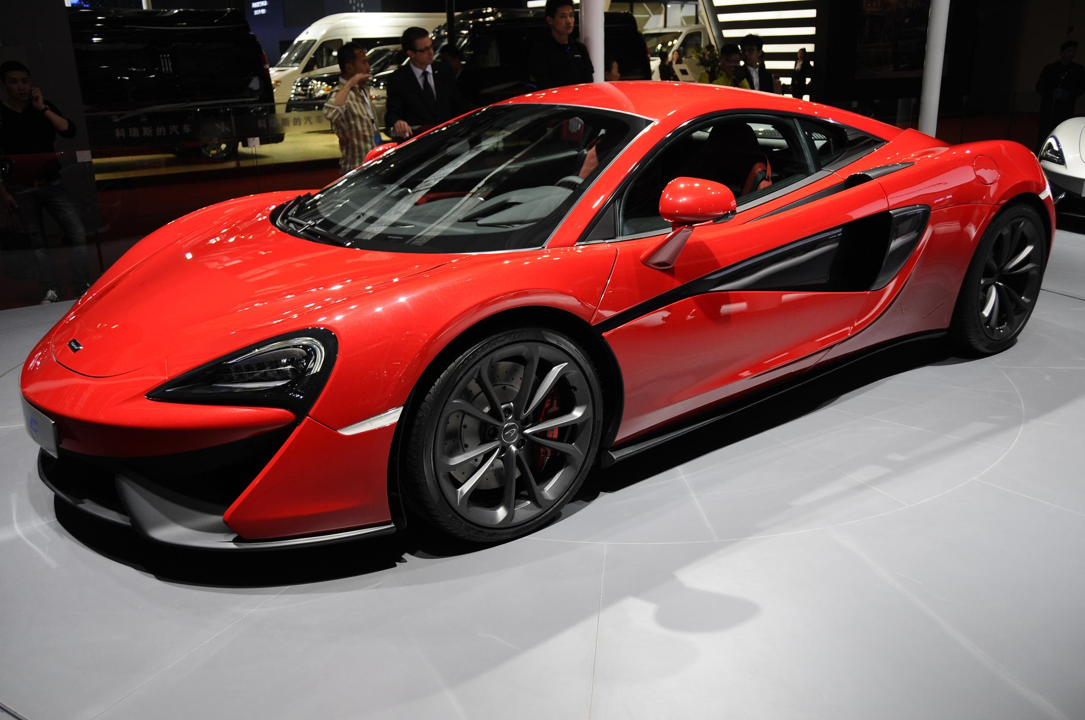 mclaren 540c coupe is unveiled in shanghai as the second model in