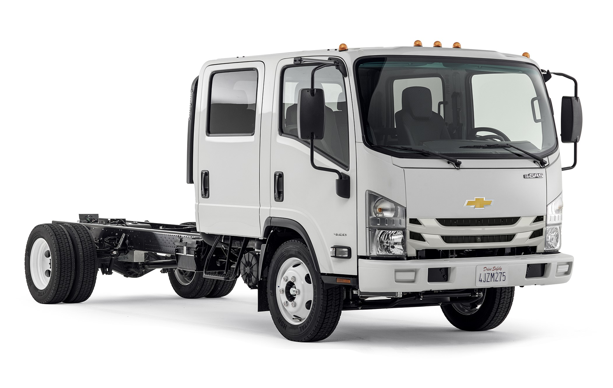CHEVROLET'S NEW LOW CAB FORWARD TRUCKS HEADING TO DEALERS ...