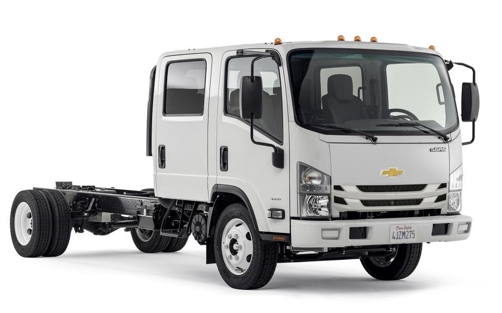 Chevrolet Re Enters Low Cab Forward Truck Market